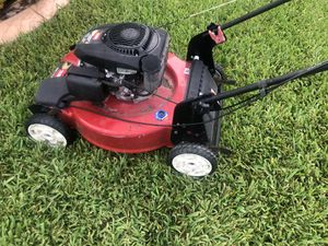 Red toro bull recycler lawn mower works perfect self propel like new for Sale in Miami Gardens, FL