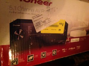 Pioneer 5.1 channel av receiver for Sale in San Francisco, CA