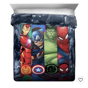 Avengers Twin Entire Bedroom Set (Furniture Included) for Sale in Portland, OR