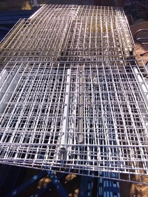 Wire metal shelves for pallet rack for Sale in Hesperia, CA