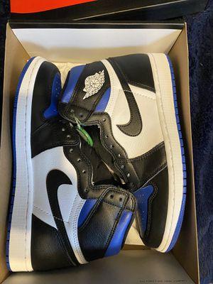 Jordan 1 royal toe size 9 for Sale in Tampa, FL