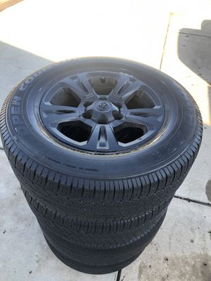 TOYO 17 inch tires and wheels (4) 2017 Toyota Tacoma for Sale in El Cajon, CA