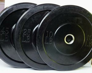 Bumper Plates 45 35 25 and 15 10 lbs Olympic Weights for Sale in Franklin Square, NY