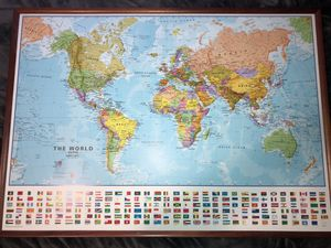 World Map for Sale in Boise, ID
