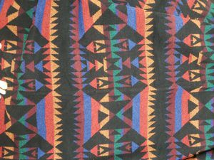 Native American Vintage Blanket Fabric New for Sale in Westminster, CA