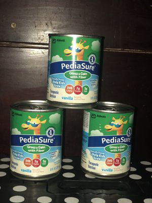 8oz cans of Pediasure with fiber for Sale in Hawthorne, CA