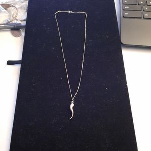 Gold Necklace With Gold Charm for Sale in Washington, DC