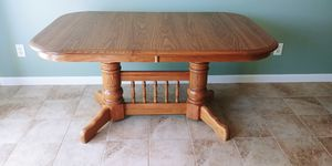 Table, 6 Chairs, and Hutch for Sale in Pickerington, OH