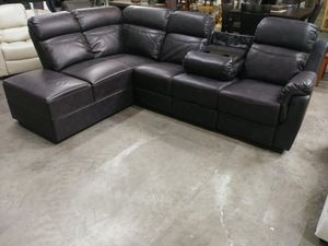 New Reclining Sectional for Sale in Puyallup, WA
