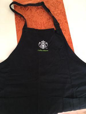 Starbucks Black Coffee Master Apron for Sale in Eugene, OR