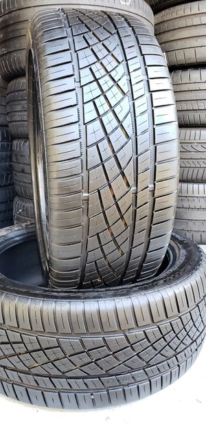 245/45/19 CONTINENTAL EXTREME CONTACT 99% TREAD for Sale in Tampa, FL