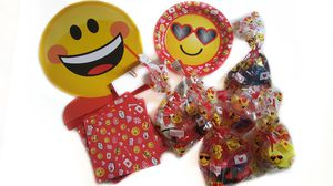 Emoji XOXO Birthday Party Supplies for Sale in Hartford, CT