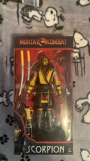 Mortal kombat scorpion action figure for Sale in Brooklyn, NY