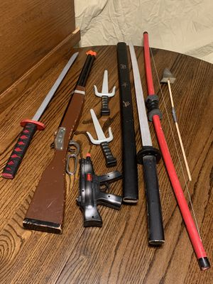 Toy Weapons for Sale in Clovis, CA