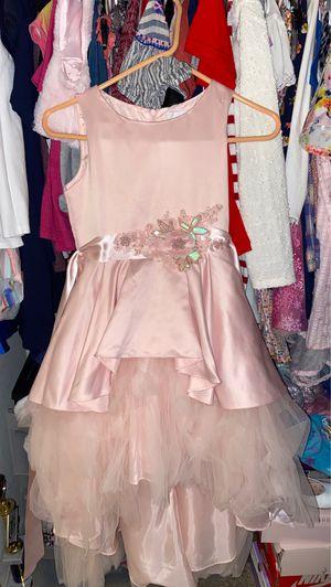 Party dress pink dress flower girl dress for Sale in Fontana, CA