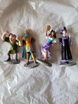Disney hunchback of notre dame figurines for Sale in Berlin, MA