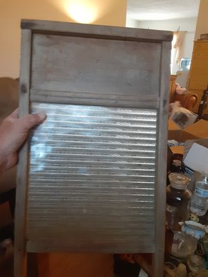 Antique glass washboard for Sale in Kenneth City, FL