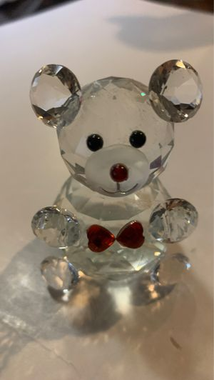 Fashion craft? Crystal Bear Decoration PAPerweight for Sale in Pembroke Pines, FL