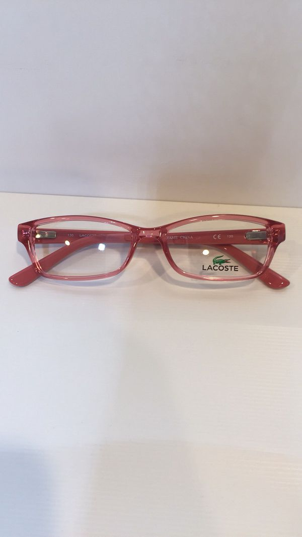 8f6b077955cc Lacoste L3608 662 Crystal Pink Eyeglasses 48mm for Sale in Alhambra ...