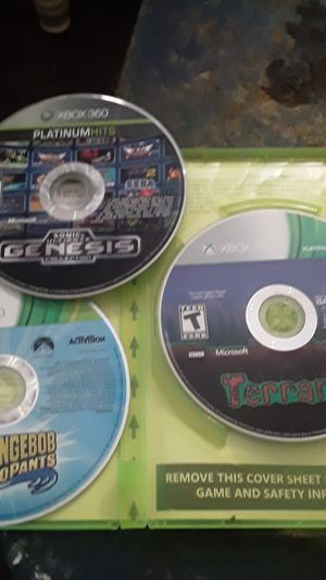 3 xbox 360 games new condition looking to trade for any remote controllers. Or for sale. bestoffer. for Sale in Phoenix, AZ
