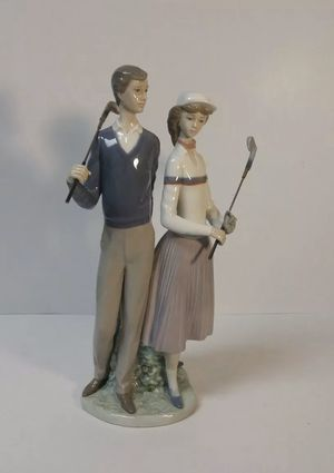 Lladro GOLFING COUPLE Figurine #1453, 1983-2005 MIB for Sale in Fort Lauderdale, FL