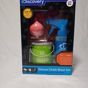 New In Box Discovery 4 Piece Deluxe Chalk Blast Set for Sale in Tampa, FL