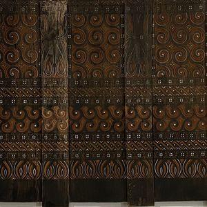 Antique Wood Panel From Toraja Indonesia for Sale in Santa Monica, CA
