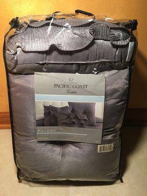 Pacific Coast Textiles Anastacia Faux Dupioni Silk Pillows for Sale for sale  Atlanta, GA