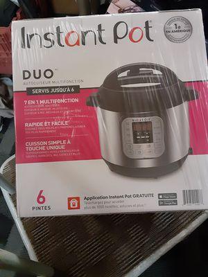 Instant pot DUO 6qt. for Sale in Littleton, CO