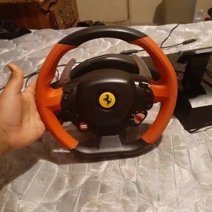 xbox Steering Wheel for Sale in Fort Worth, TX