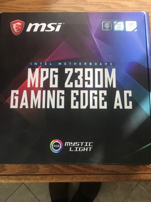 """MSI gaming motherboard and 32"""" curved Samsung Monitor for Sale in Murrieta, CA"""