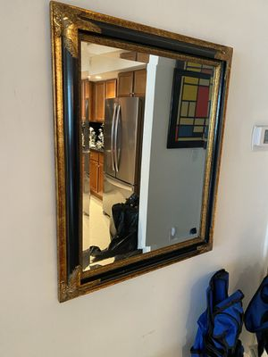 Framed Wall Mirror for Sale in Miami, FL