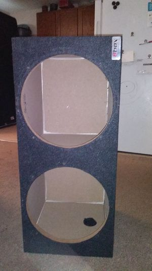 15 inch subwoofer box for Sale in Happy Valley, OR