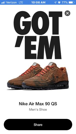 "Nike air max 90 ""landing Mars"" for Sale in Washington, DC"