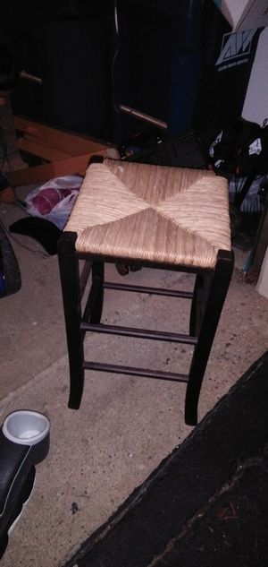 Wicker bar stool for Sale in Hanover Park, IL