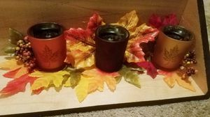 Fall votive candle holders for Sale in Tacoma, WA