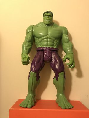 Marvel Comics The Hulk Figure Around 12 Inches Tall Good Condition for Sale in Reedley, CA