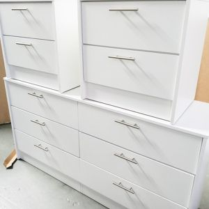New White Dresser And 2 Nightstands for Sale in Boca Raton, FL