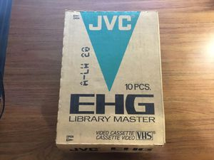 New JVC T-120 VHS Videotapes for Sale in Grapevine, TX