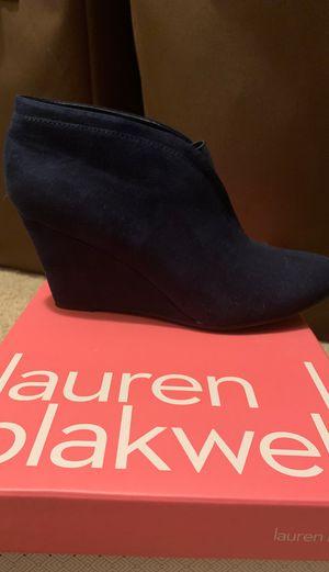 Lauren Blackwell Navy Wedges for Sale in Gresham, OR
