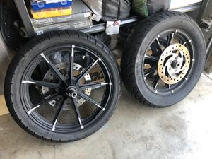 Harley Davidson sportster disc break and belt pulley for Sale in Gilroy, CA