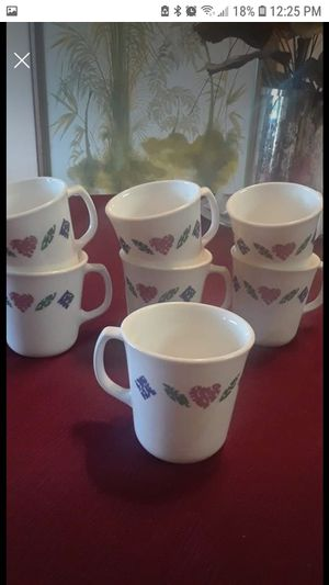 Corning coffee cups for Sale in Fairview, OR