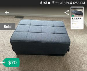ISO of this convertible ottoman for Sale in Four Oaks, NC