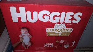 Huggies snugglers size 1 for Sale in Austin, TX
