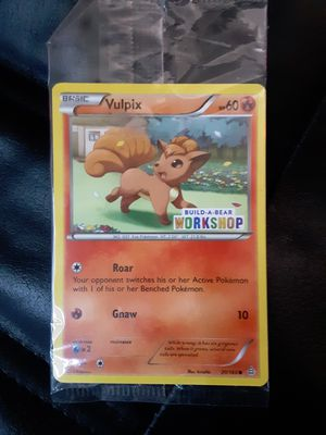 Vulpix Pokemon Card Limited Edition! for Sale in Austin, TX