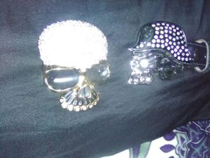 SKULL buckle for Sale in Puyallup, WA