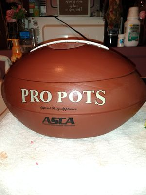 Crock pot football for Sale in San Antonio, TX