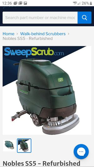Floor scrubber and waxer industrial for Sale in Riverview, FL