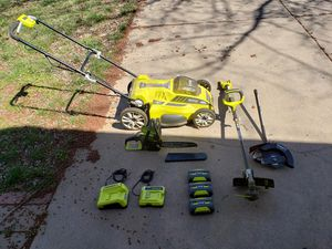 Ryobi Electric Lawn Set for Sale in Wichita, KS