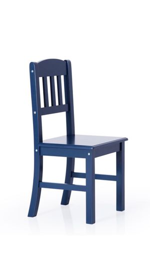 Glaser Kids Wood Chair, Navy for Sale in Pasadena, CA